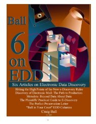 Six Articles on Electronic - Craig Ball
