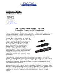 Threaded Cartridges.pdf - Vaccon Vacuum Products