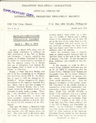 March-April 1975 - International Philippine Philatelic Society