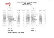 und Abstiegsregelungen Saison 2011/12 ... - FV PAOK Ludwigsburg