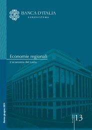 Economie regionali - Biclazio.it