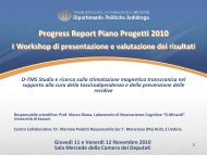 Università degli Studi di Sassari - Dipartimento per le politiche ...