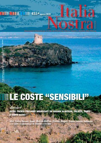 """num. 455: Le coste """"sensibili"""" - Italia Nostra"""