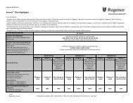 Innova Plan Highlights - Regence BlueShield