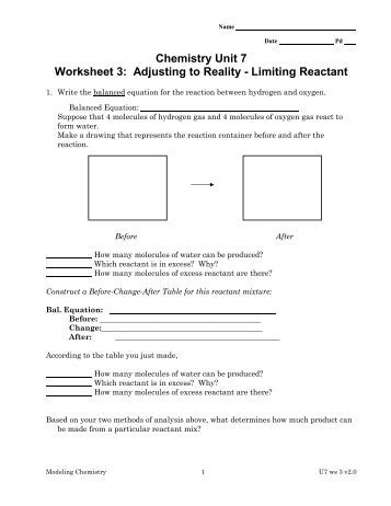 limiting reactant practice worksheet. Black Bedroom Furniture Sets. Home Design Ideas