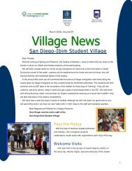 Village News - Jewish Federation of San Diego County