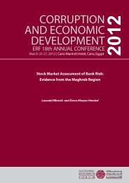 Stock Market Assessment of Bank Risk - Economic Research Forum