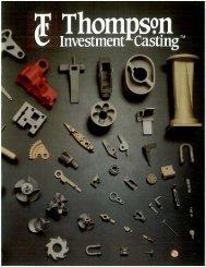 Thompson Investment Casting Brochure - Custom Component Sales ...