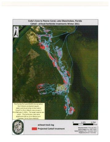 Map of treatment - Florida Invasive Species Partnership
