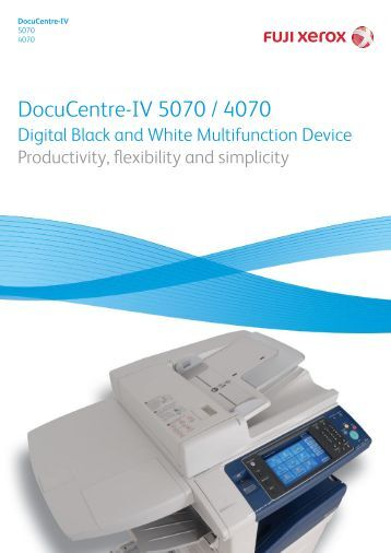 Docucentre Iv c3370 Administrator Guide update