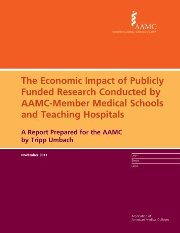 The Economic Impact of Publicly Funded Research ... - DTMI