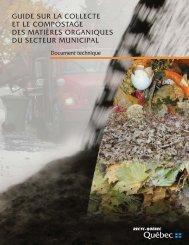 Guide sur la collecte et le compostage des matières ... - Recyc-Québec