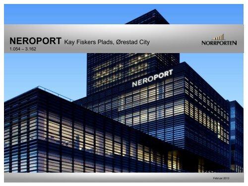 NEROPORT Kay Fiskers Plads, Ørestad City - Norrporten