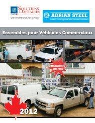 Ensembles pour Véhicules Commerciaux - Adrian Steel