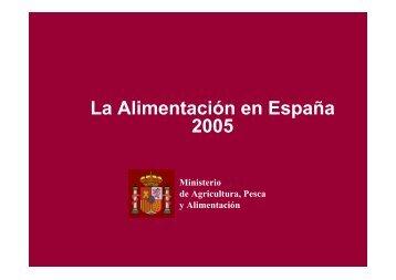 La Alimentación en España 2005 - RuralCat