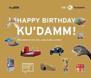 HAPPY BIRTHDAY - 125 Jahre Ku'damm