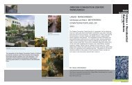 Urban and residential raingardens - Green Futures Lab