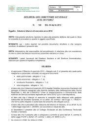 Azienda Usl di Forlì - Saluter
