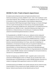 INKOBA Pro Aktiv: Projekt erfolgreich abgeschlossen
