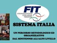 DT Tennis_Sistema Italia - Sport24h