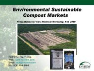 Rod Fry, Envirem Technologies - Compost Council of Canada