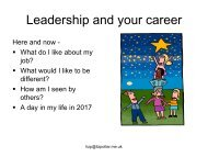 Leadership and your career - Social Housing Exhibition