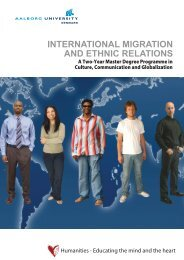international migration and ethnic relations - AMID: Academy for ...