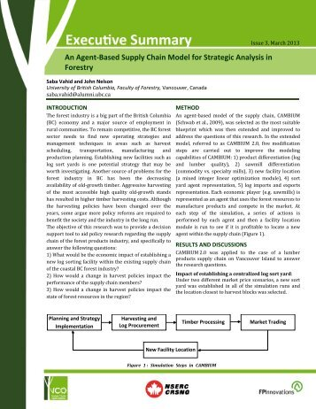 An Agent-Based Supply Chain Model for Strategic Analysis in ... - VCO