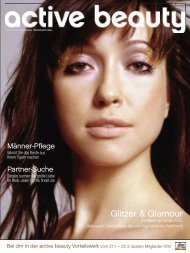 Die Make-up-Trends 2005 - Active Beauty