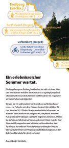Erlebniswelt Freiberg-Holzhau Sommer 2011* - Freiberg-Service - Seite 2