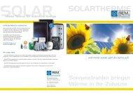 SOLARTHERMIE - REM GmbH