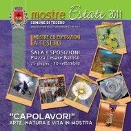 dal 13 luglio al 18 agosto - Comune di Tesero