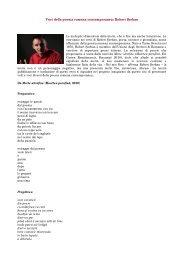 Voci della poesia romena contemporanea ... - Afrodita Cionchin