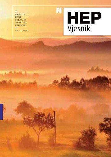 Broj 261 Listopad 2012. - HEP Grupa