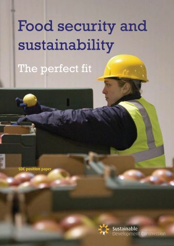 Food security and sustainability - Sustainable Development ...