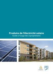 ARC et SUNEXIS - Produire de l'électricité solaire ... - ALE-Montpellier
