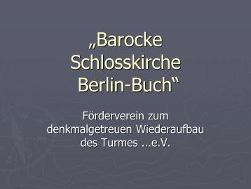 gesamte PowerPoint-Präsentation - Evangelische Kirche Berlin-Buch
