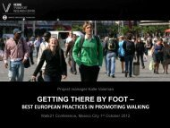 Download Best European Practices in Promoting Walking ... - Walk21