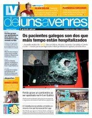 Os pacientes galegos son dos que máis tempo están hospitalizados