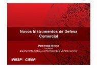 Novos Instrumentos de Defesa Comercial - Ibrac
