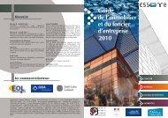 Guide Immobilier 2010 - Agence pour l'économie en Essonne