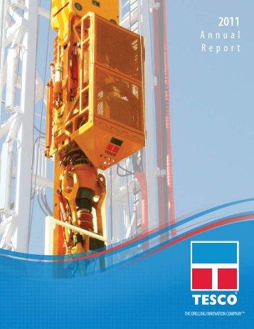 2011 Annual Report - TESCO Corporation