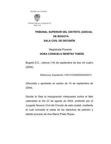 tribunal superior del distrito judicial rama judicial