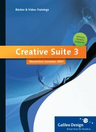 Creative Suite 3 - Galileo Press