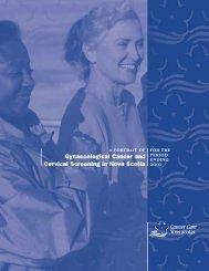 GynaeCancerStatsInNS pdf - Cancer Care Nova Scotia