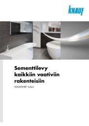aquapanel Indoor - Knauf