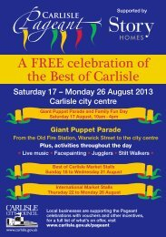 Pageant leaflet - Story Homes