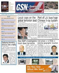 October 2008 - Government Security News