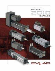 exlar gsx series linear actuators applications include - IGAS