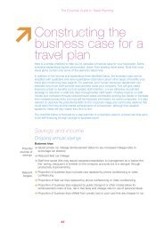 Constructing the business case for a travel plan - Moving Somerset ...